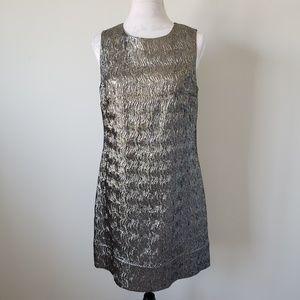 Shoshanna Metallic Dress Women's 12